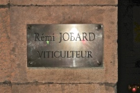 L'insegna al 12 di Rue Sudot a Meursault