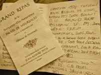 L'elenco dei vini
